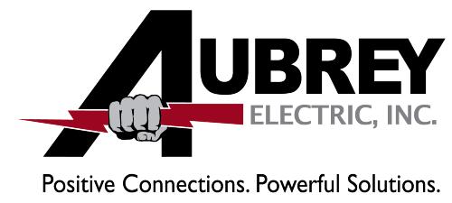 Aubrey Electric, Inc. Logo